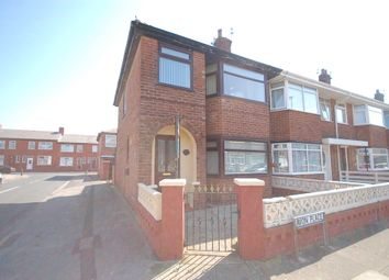Thumbnail 3 bed end terrace house for sale in Avon Place, Blackpool