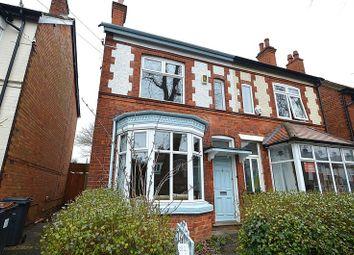 Thumbnail 5 bed semi-detached house for sale in Abbots Road, Kings Heath, Birmingham
