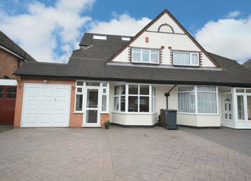 Thumbnail 5 bedroom semi-detached house for sale in Haslucks Green Road, Shirley, Solihull