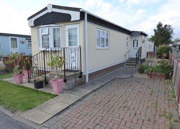 Thumbnail 1 bed mobile/park home for sale in Bourne Avenue, Penton Park, Chertsey, Surrey