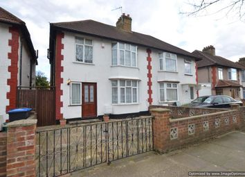 Thumbnail 3 bed semi-detached house to rent in Woodfield Avenue, Wembley