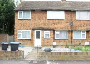 Thumbnail 2 bed maisonette to rent in Medcalf Road, Enfield