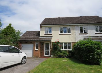 Thumbnail 3 bed semi-detached house for sale in The Curlews, Verwood