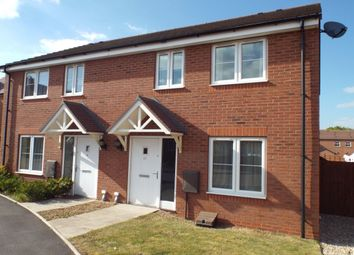 Thumbnail 2 bed semi-detached house for sale in Cornflower Drive, Evesham