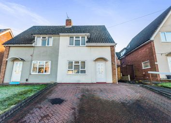 Thumbnail 2 bedroom semi-detached house for sale in Hawkesley Road, Dudley