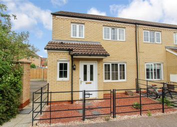 Thumbnail 3 bed end terrace house to rent in The Glades, Huntingdon, Cambridgeshire