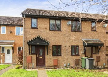 Thumbnail 2 bed terraced house for sale in Stagshaw Drive, Peterborough