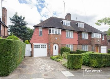 Thumbnail 6 bed semi-detached house for sale in Gurney Drive, East Finchley, London