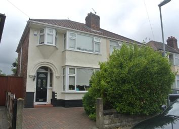 Thumbnail 3 bedroom semi-detached house for sale in Jeffereys Crescent, Huyton, Liverpool