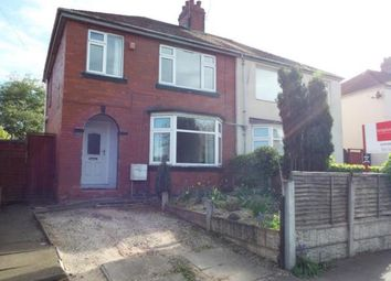 Thumbnail 3 bed semi-detached house for sale in Badger Avenue, Crewe, Cheshire
