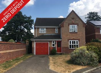 Thumbnail 4 bedroom detached house to rent in Montgomery Way, King's Lynn