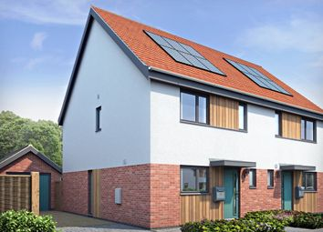 Thumbnail 3 bedroom semi-detached house for sale in Norwich Road, Hingham, Norwich