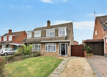 Thumbnail 3 bed semi-detached house for sale in Cheviot Close, Putnoe, Bedfordshire
