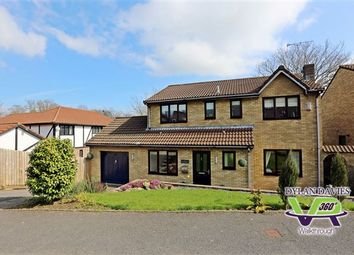 Thumbnail 4 bed detached house for sale in Llys Coed Derw, Llantwit Fardre, Pontypridd