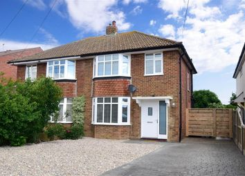 Thumbnail 3 bed semi-detached house for sale in Bridgefield Road, Whitstable, Kent