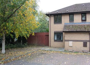 Thumbnail 2 bed end terrace house for sale in St Davids Crescent, St Athan