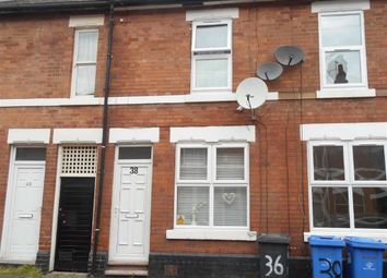 Thumbnail 2 bedroom terraced house to rent in Riddings Street, Derby