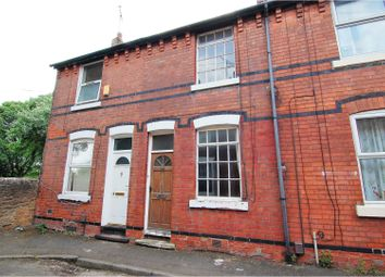 Thumbnail 1 bed terraced house for sale in Marlow Avenue, Nottingham