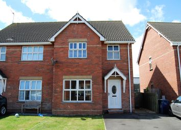 Thumbnail 3 bedroom semi-detached house for sale in Oakfields, Craigavon