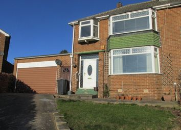 Thumbnail 3 bedroom semi-detached house to rent in Hall Crescent, Spinnyfield