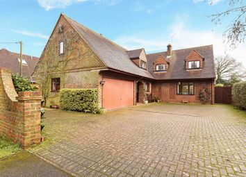 Thumbnail 4 bedroom detached house for sale in Island Farm Road, Ufton Nervet, Reading