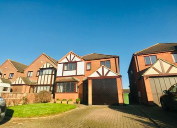 Thumbnail 4 bed detached house for sale in Broughton Road, Leicestershire, Croft