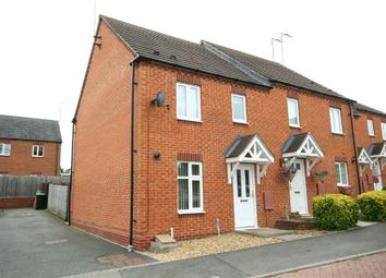 Thumbnail End terrace house for sale in Rushmere Close, Raunds, Northamptonshire