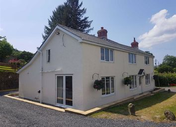 Thumbnail 4 bed detached house for sale in Cemmaes Road, Machynlleth, Powys