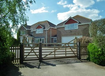 Thumbnail 5 bed detached house for sale in Stockhouse Lane, Surfleet, Spalding