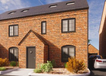 Thumbnail 3 bed semi-detached house for sale in Plot 3, Dairy Mews, Luke Lane, Brailsford