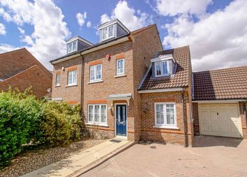 Thumbnail 5 bed semi-detached house to rent in Stanborough Mews, Stanborough Road, Welwyn Garden City