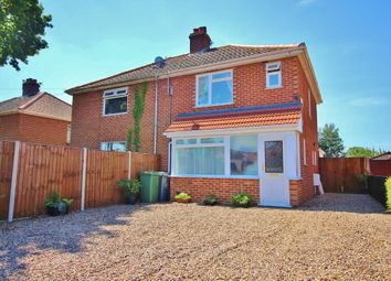 Thumbnail 3 bedroom semi-detached house for sale in Links Avenue, Hellesdon, Norwich