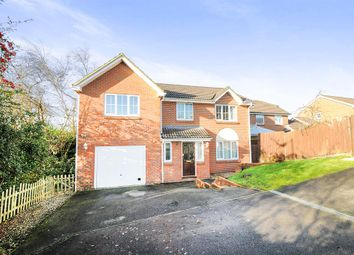 Thumbnail 5 bed detached house for sale in Garth Close, Chippenham