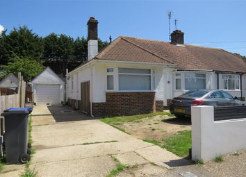 Thumbnail 3 bed semi-detached bungalow for sale in Western Road, Sompting, Lancing