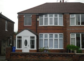Thumbnail 4 bedroom semi-detached house to rent in Stephens Road, Withington