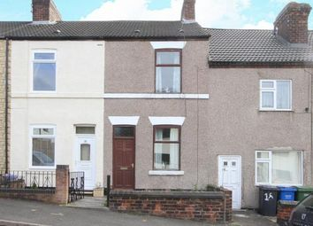 Thumbnail 2 bed terraced house for sale in William Street North, Old Whittington, Chesterfield, Derbyshire