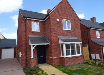 Thumbnail 4 bed detached house for sale in Church View, Hugglescote, Leicestershire
