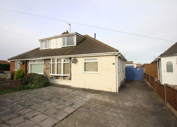 Thumbnail 3 bed semi-detached bungalow for sale in Northumberland Avenue, Thornton-Cleveleys