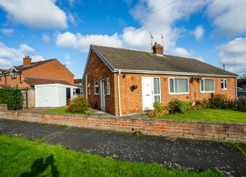 Thumbnail 2 bed semi-detached bungalow for sale in Ashdale Road, Dunnington, York