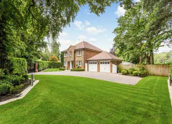 Thumbnail 5 bed detached house for sale in Coombe Lane, Ascot