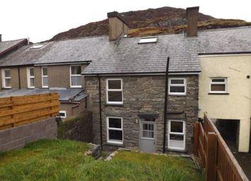 Thumbnail 3 bed terraced house for sale in Manod Road, Blaenau Ffestiniog, Gwynedd, .