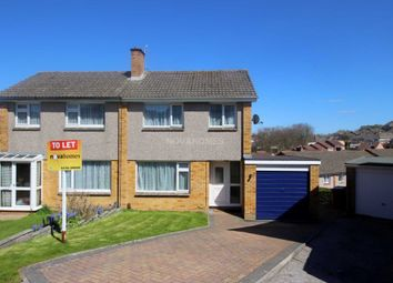 Thumbnail 3 bed semi-detached house to rent in Stefan Close, Hooe