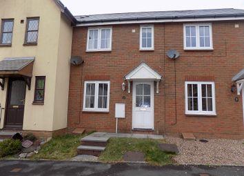 Thumbnail 2 bed terraced house for sale in Trem-Y-Dyffryn, Broadlands, Bridgend.