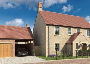 Thumbnail 4 bed detached house for sale in Cherry Tree Lodge, Church Farm, Frome Road, Rode