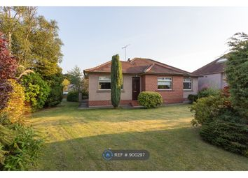 Thumbnail 3 bed bungalow to rent in Woodlands Grove, Edinburgh