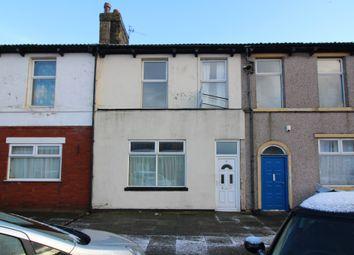 Thumbnail 3 bedroom terraced house to rent in North Albert North Albert Street, Fleetwood