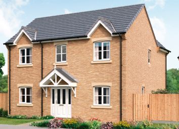 Thumbnail 4 bed detached house for sale in Stretton Road, Great Glen, Leicester