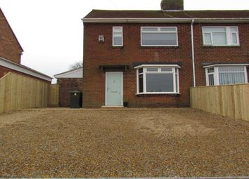 Thumbnail 3 bed semi-detached house for sale in Taylor Avenue, Wideopen, Newcastle Upon Tyne