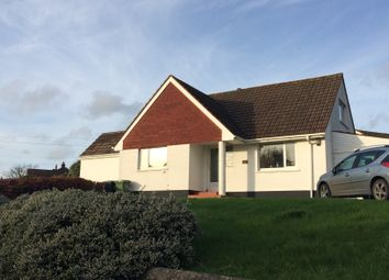 Thumbnail 3 bed detached bungalow to rent in Longfield Close, Braunton