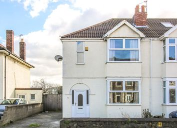 Thumbnail 3 bed semi-detached house for sale in Locking Road, Weston-Super-Mare